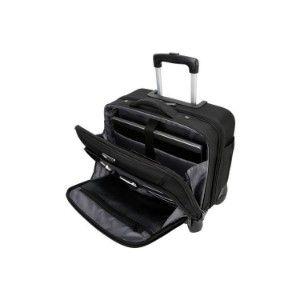 15.6 Mobile Vip 4-Wheeled Business & Overnight Roller (Black)