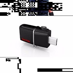 Sandisk Ultra Dual Usb Drive 3.0, Sddd2 64Gb, Usb3.0, Black, Usb3.0/Micro-Usb Connector, Otg-Enabled Android Devices