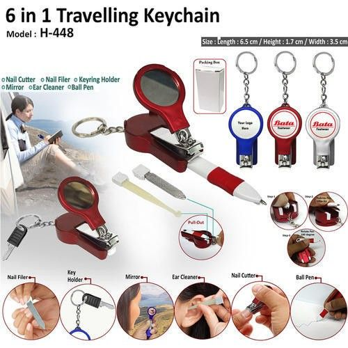 6 In 1 Travelling Keychain (H-448)