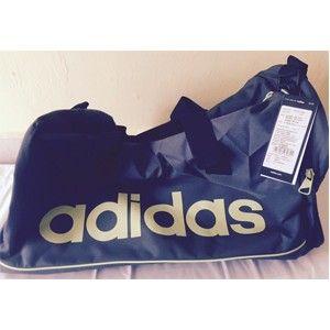 Adidas Blue Polyester Duffle Bag Aa4436