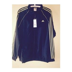 Adidas Track Top Black With Yellow Stripes 42113
