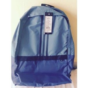 Adidas Versatile Polyester Unisex Laptop Backpack With Adjustable Straps Blue Beauty Ac1352