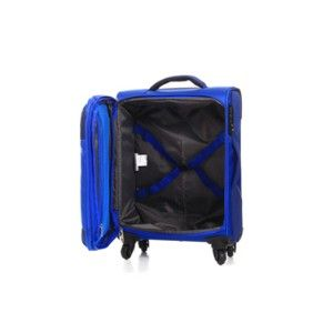 American Tourister Sky Spinner 55Cm Trolley Bag Blue-Grey