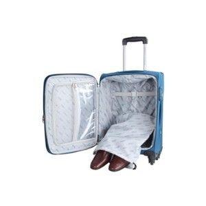 American Tourister Speed Spinner 55Cm Trolley Bag Blue