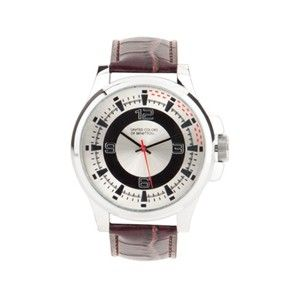 Benetton Brown Chunky Watch