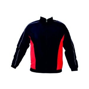 Benetton Micro With Mesh Lining Jackets Black & Red
