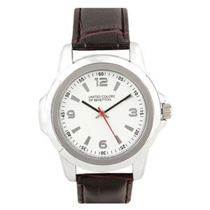 Benetton White Chunky Watch