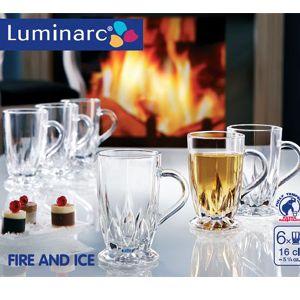 Fire & Ice Mug 16 Cl ( Set Of 6)