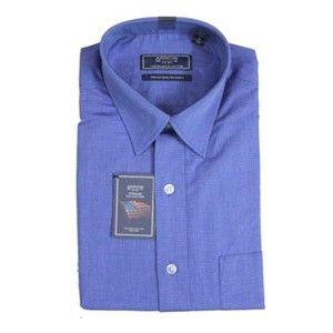 Arrow Formal Royal Blue Premium Cotton Shirt