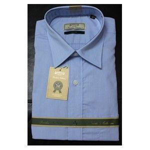 Arrow Formal Sky Blue Premium Auto Press Shirt