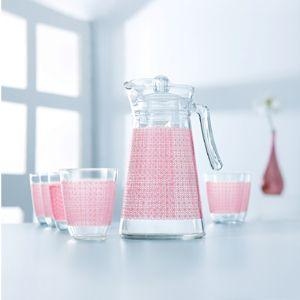 Galaxy Pink 7Pc Drink Set