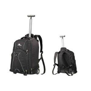 High Sierra Freewhl Laptop Trolley Backpack Black