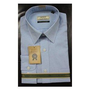 Linen Arrow Formal Shirt Light Blue