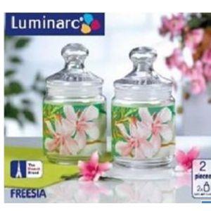 Luminarc Freesia 2Pc Jar Set