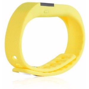 Mdi Smart Bluetooth Fitness Band  (Yellow)