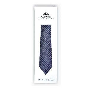 Alvaro Micro Tie Navy Blue Alcg 21