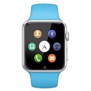 Micomy A6 Smartwatch  (Blue Strap)
