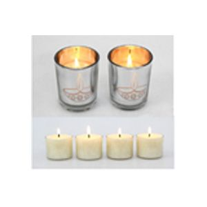 Gift Box ( 2 Glass Candles & 4 Votive Candles)