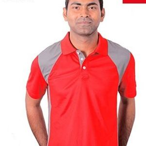 Puma Dezire T-Shirt Red With Grey