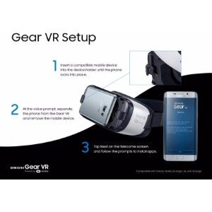 Samsung Gear Vr  (Smart Glasses)