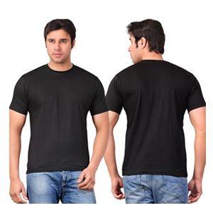 Scott Round Neck T-Shirt  Black