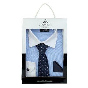 Alvaro Shirt Tch Set Blue With Navy Blue  Alcg 14
