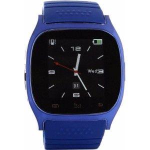 Ts Fitness Smartwatch Blue Smartwatch  (Blue Strap)