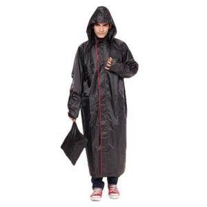 Versalis Rain Champ Coat Black