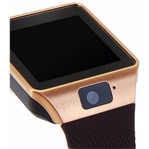 Zakk Dz_09 Smartwatch  (Brown Strap)