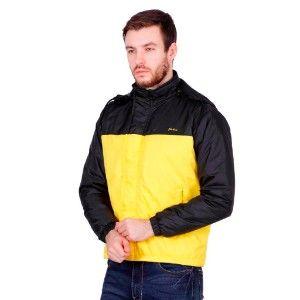 Good Quality Jacket Black & Yellow