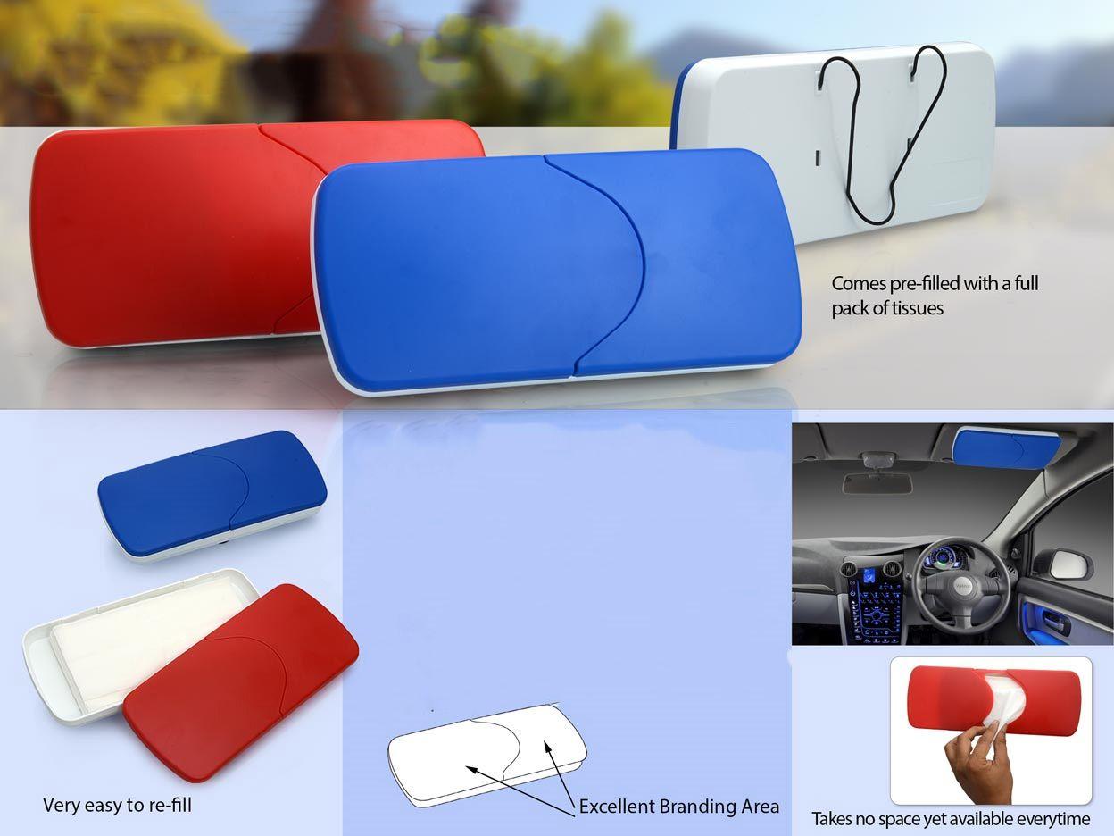 Power Plus Car Tissue Box (With Tissues) E190