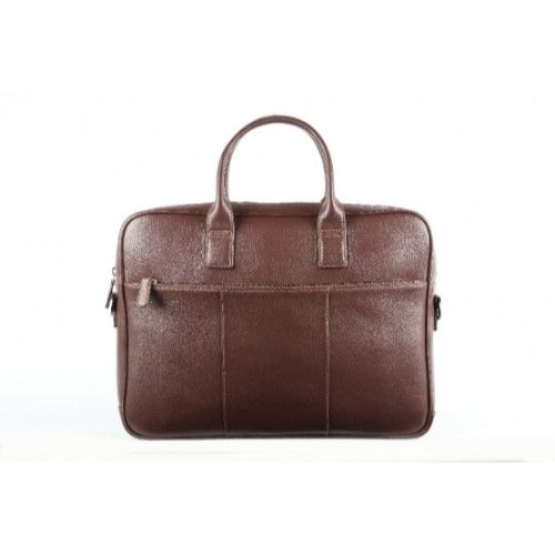 Elan Leather Executive Bag-Brown