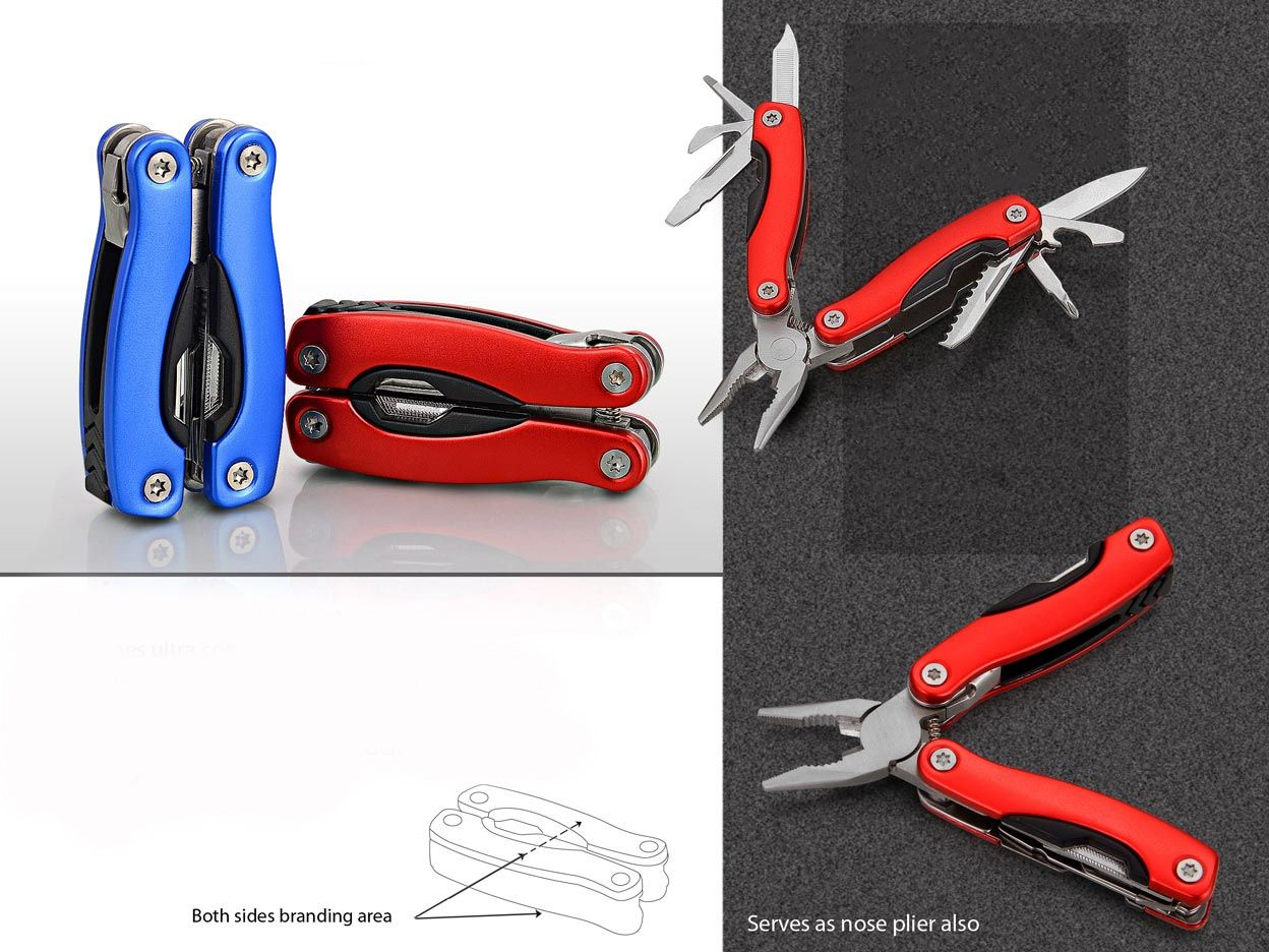 Power Plus Folding Mini Pliers With 9 Tools (Superior Quality) G16