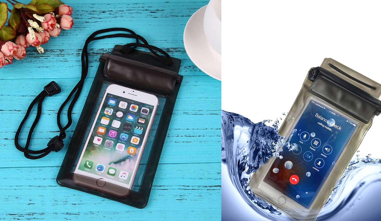 Power Plus Mobile Waterproof Pouch   Can Be Used Inside Water E234 Mix