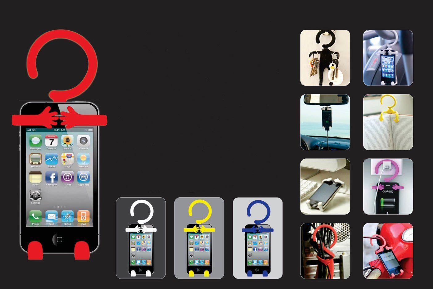 Power Plus Mr. Notty: Flexible Mobile Holder (Multipurpose) E128