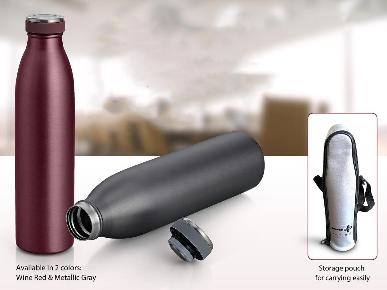 Power Plus Cola Premium Vacuum Flask (750Ml) (Storage Pouch Included) H108