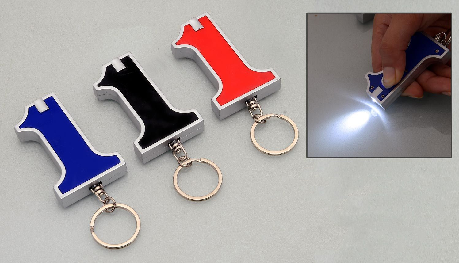 Power Plus No. 1 Keychain With Torch J77