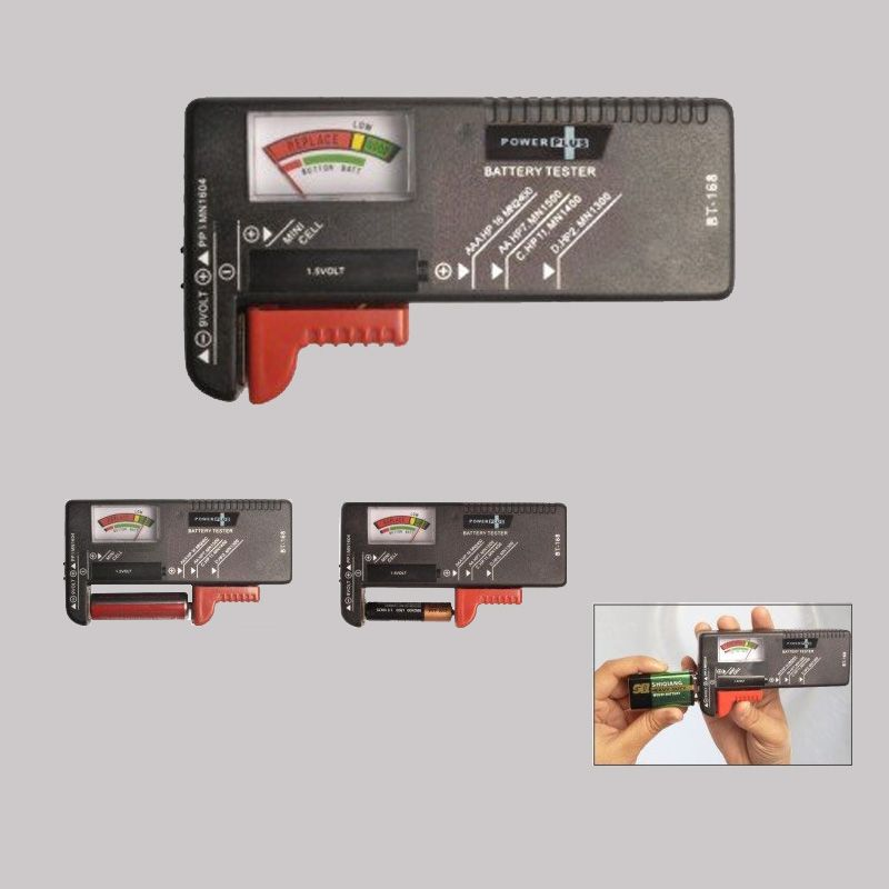 Power Plus Power Plus Universal Battery Tester E60 Black
