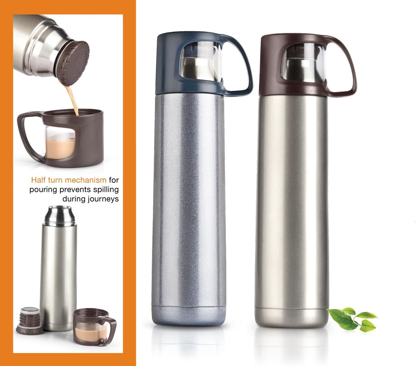 Power Plus Power Plus Vacuumized Travel Flask (500 Ml Approx) H43