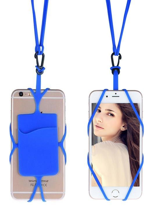 Power Plus Silicon Hanging Mobile Wallet Z10