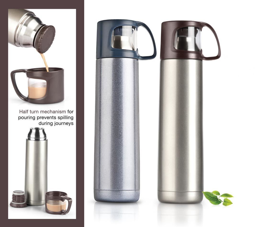 Power Plus Vacuumized Travel Flask (700 Ml Approx) H68