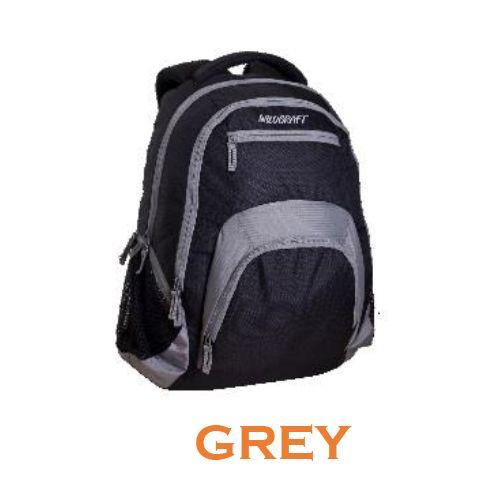 Wildcraft Hopper Laptop Backpack - Grey
