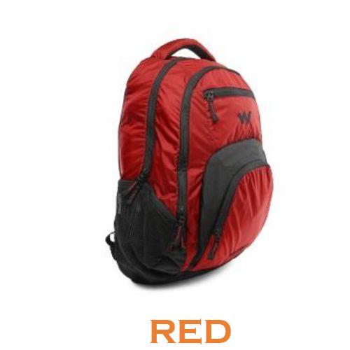 Wildcraft Lih Laptop Backpack - Red