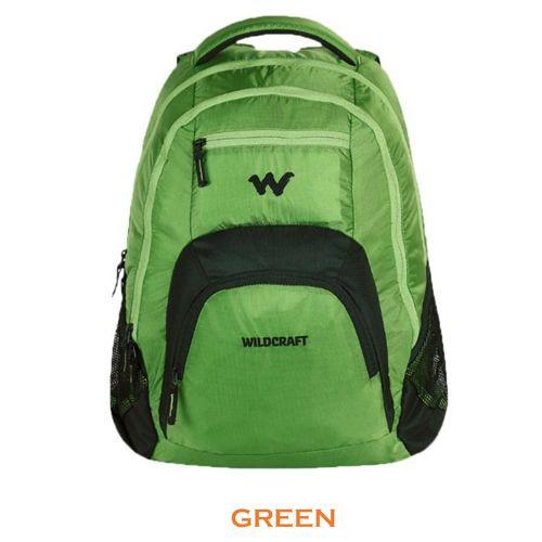 Wildcraft Lih Laptop Backpack -Green