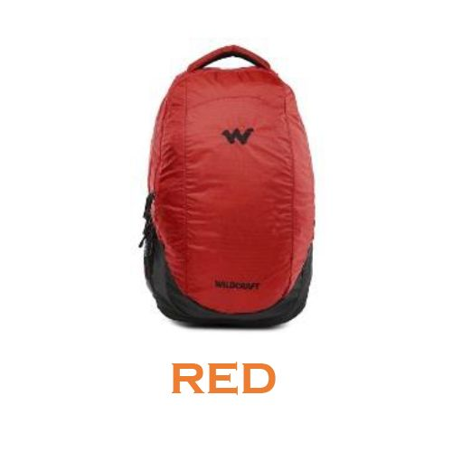 Wildcraft Peza Laptop Backpack - Red