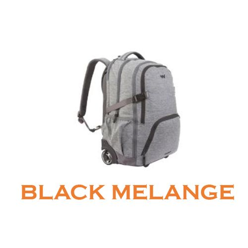"Wildcraft Voyager 20"" Backpack Bag - Black Melange"