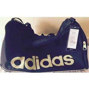 Adidas Black Polyester Duffle Bag Aa4437