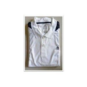 Adidas T-Shirt White With Black  O02833