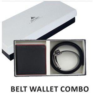 Alvaro Belt  Wallet  Combo Brown (Alcg 4)
