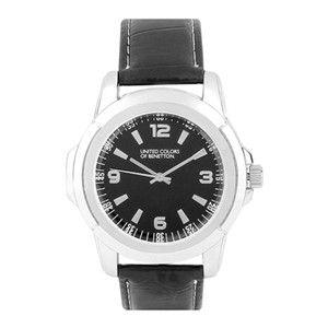 Benetton Black Chunky Watch